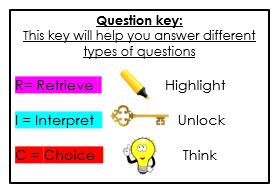 Question key RIC