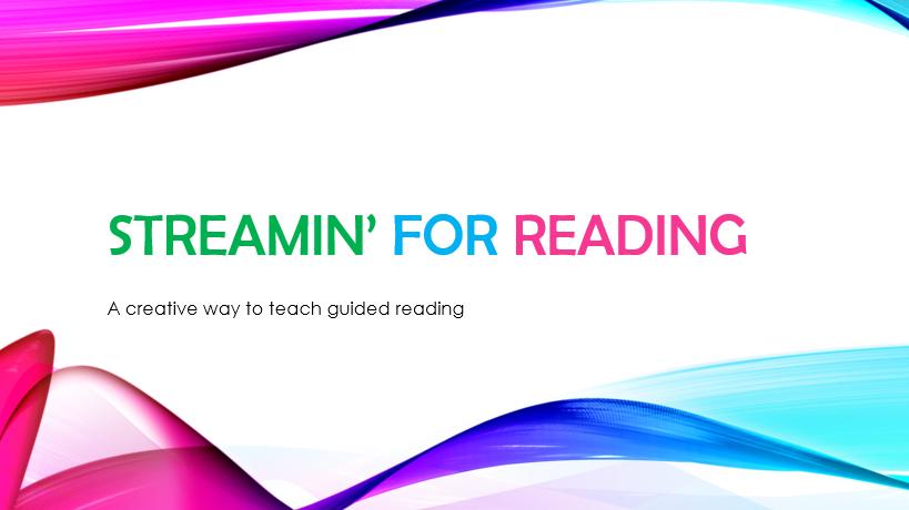 Streamin for reading logo