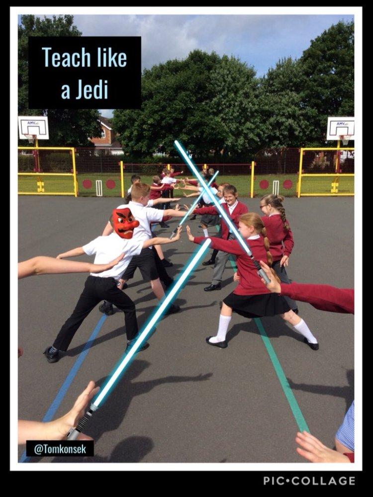 Teach like a Jedi